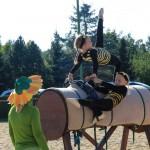 Themenvoltigier-Wettbewerb mit Kostüm auf dem